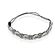 cheap -Crystal Fabric Tiaras Headbands Hair Tie Head Chain 1 Wedding Special Occasion Party / Evening Casual Outdoor Headpiece