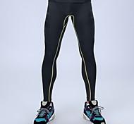 Компрессионные чулки и колготки тренажерный зал фитнес-профессиональные спортивные штаны мужчины высокая эластичность работает бегунов