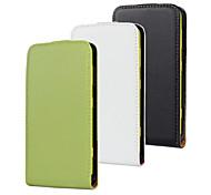 For Nokia Case Flip Case Full Body Case Solid Color Hard PU Leather Nokia Nokia Lumia 625