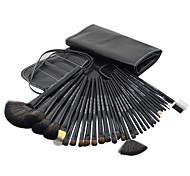 32pcs Black Professional Cosmetic Brush Kit Makeup Brushes Set Case Make Up Brush Sets Makeup Tool