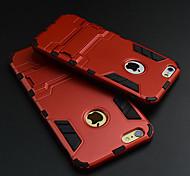 ультратонкий яблоко жесткий чехол защитный чехол с подставкой для iphone 6с 6 плюс