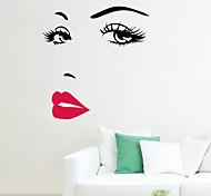 Wall Stickers Wall Decals , Hepburn PVC Wall Stickers