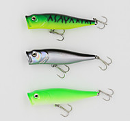 Fishing Lure 90mm 13.5g Big Popper Hard Bait Fishing Lure with 6# Hooks