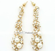 cheap -Women's Drop Earrings Fashion European Imitation Pearl Cubic Zirconia Alloy Jewelry Costume Jewelry
