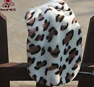 cheap -Cat Dog Vest Dog Clothes Leopard Leopard Polar Fleece Costume For Pets Men's Casual/Daily Keep Warm