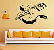 cheap -Romance Fashion Shapes Cartoon Music Wall Stickers Plane Wall Stickers Decorative Wall Stickers, PVC Home Decoration Wall Decal Wall
