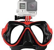 Máscaras de Buceo Montura por Cámara acción Todo Gopro 5 Gopro 4 Session Gopro 4 Silver Gopro 4 Gopro 4 Black Gopro 3 Gopro 2 Gopro 3+