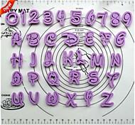 помады торт украшение инструменты мультфильм шрифта алфавит резак количество писем LUTTER установить пластиковую набор печенья из 36