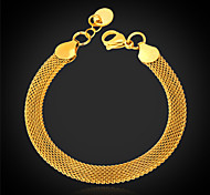 cheap -Women's Stainless Steel Gold Plated Chain Bracelet Bracelet - Fashion Bracelet For Christmas Gifts Wedding Party