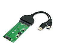 "USB 3.0 to SATA 2.5"" Hard Disk to M.2 NGFF PCI-E 2 Lane SSD for E431 E531 X240 Y410P Y510"