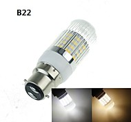 4W E14 G9 GU10 B22 E26/E27 LED Corn Lights 40 SMD 5630 350-400 lm Warm White Cold White 3000-3500K 6000-6500K K Decorative AC 100-240 AC