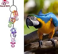 Недорогие -птица Игрушки для птиц Металл Пластик Разноцветный