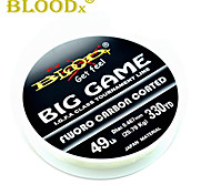 cheap -300M / 330 Yards Fluorocarbon Line Fishing Line Black 5LB / 6LB / 8LB / 10LB / 12LB / 16LB / 20LB / 22LB / 25LB / 30LB / 40LB / 7LB