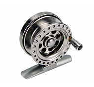 Deep Sea Mini Full Metal Aluminum Fly Fishing Reel 5cm Ultra-light Winter Fishing Tackle Ice reels 1:1 Ratio