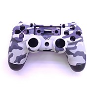 cheap -Protective ABS Case  + Screwdriver Whole Set for PS4 Wireless Game Controller - Grey Camouflage