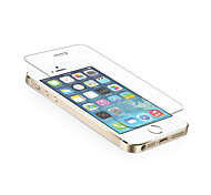 0.3mm Tempered Glass Screen Protector with Microfiber Cloth for iPhone 5/5S