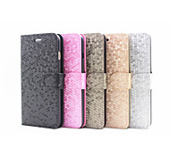 Flip Cover Stand Card Slot Diamond Fashion Mobile Phone Shell for iphone 5C