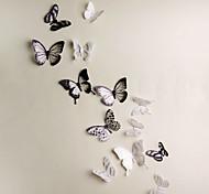 Недорогие -Животные 3D Наклейки 3D наклейки Декоративные наклейки на стены,Винил материал Съемная Украшение дома Наклейка на стену