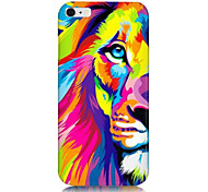 красочные картины льва задняя крышка для Iphone 6с 6 плюс