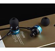 jbmmj-x9 Kopfhörers 3.5mm in Ohrkanal-Stereo-Noise-Cancelling für Media-Player / Tablette