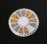 Недорогие -beadia заключения ювелирных изделий ассорти Размер 2.0mm 2.5mm 3mm обжимной конечные бусины латунь бисер маленький разделительные бусины
