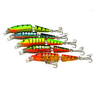 cheap -5 pcs Hard Bait Fishing Lures Minnow Hard Bait Hard Plastic Sea Fishing Freshwater Fishing Bass Fishing