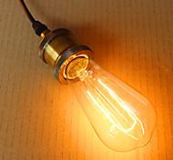 луковицы эдисона из стали 64-го цвета 220v-240v e26-e27 40w лампа edison