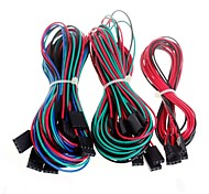 14pcs Complete Wiring Cables for 3D Printer Reprap RAMPS 1.4 Endstops Thermistors Motor