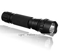5 Lanternas LED LED 1200 Lumens 5 Modo Cree XP-E R2 Baterias não incluídas Resistente ao Impacto Recarregável Impermeável Detector de