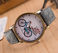 cheap -Women's Quartz Wrist Watch Casual Watch Leather Band Charm Casual Fashion Black White Blue Red Brown Green Pink Yellow