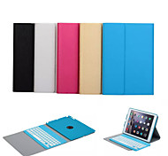 cheap -Auto Wake/Sleep Bluetooth Keyboard Removable Case for Apple iPad Air (Assorted Color)
