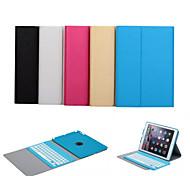 preiswerte -Auto-Wake / Sleep-Bluetooth-Tastatur abnehmbare Tasche für Apple iPad Luft (Farbe sortiert)