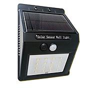 16LED Солнечная панель работает датчик движения лампы открытый свет сад свет безопасности