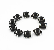 12 x 12 x 7mm Tact Switches (10 PCS)