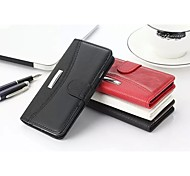 Business Litchi Grain & Crazy Horse  Genuine Leather Card Slot and Stand Wallet Case for Iphone 6 Plus &  Iphone 6s Plus