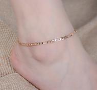 Недорогие -женская мода просто полый цепь сплава браслет