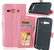Высокое качество PU кожаный кошелек мобильный телефон кобура случае Alcatel С9 (ассорти цветов)