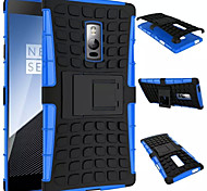 For OnePlus Case Case Cover Shockproof with Stand Back Cover Case Armor Hard PC for OnePlus One Plus 2 One Plus 3T