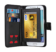 cheap -Magnetic 2 in 1 Luxury Leather Wallet Case Flip Cover+Cash Slot+Photo Frame Phone Case for Samsung Galaxy S5/S6/S6 Edge