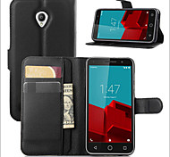 Protective Sleeve Of litchi Grain Holder For Vodafone Smart Prime 6 Mobile Phone