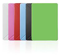 Недорогие -Умные Обложки/Оригами Случаи (Кожа PU , красный/черный/белый/зеленый/синий/розовый) - Основной цвет - Яблоко iPad mini/IPad мини 2/Ipad мини 3