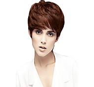 Capless Mix Color  Extra Short High Quality Natural Straight Synthetic Wigs