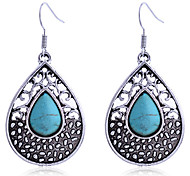 cheap -Women's Silver Plated Drop Earrings - Silver Drop Earrings For Party Daily Casual