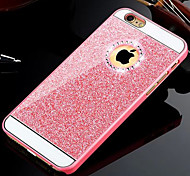 preiswerte -Hülle Für iPhone 5 Apple iPhone 8 iPhone 8 Plus iPhone 5 Hülle Strass Rückseite Glänzender Schein Hart PC für iPhone 8 Plus iPhone 8