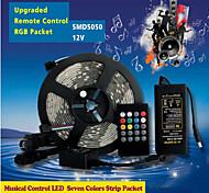 W RGB ленты lm AC100-240 5 м 150 светодиоды RGB