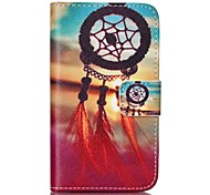 Dreamcatcher Painted PU Phone Case for Galaxy S2 I9100 Galaxy S Series Cases / Covers
