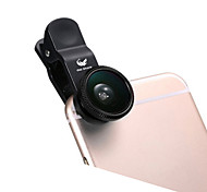 cheap -ABS Fish-Eye Lens Wide-Angle Lens 10X and above 180 Universal iPad Note 4 Note 2 iPhone 5 iPhone 6