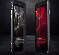 Лезвие металлический каркас не матовое не увядает анти многоцветный границу для Iphone 6 плюс / 6с плюс (ассорти цветов)