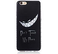 Недорогие -новые модели зуба волны скольжения ручка ТПУ мягкий чехол для iphone телефона 6 плюс / 6с плюс