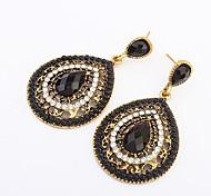 Women's Drop Earrings Fashion European Costume Jewelry Resin Alloy Drop Jewelry For